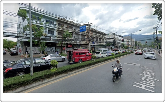 22sqw Commercial house Hoikeaw,chiangmai downtown properties
