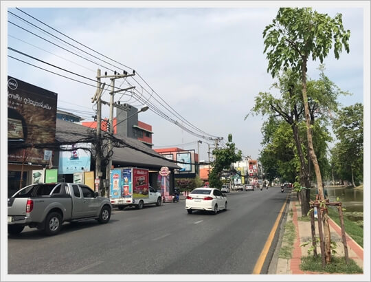 Shophouse19sqw chiangmaicity roadside, properties for sale.