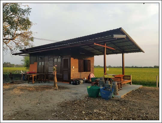 488sqw RicefieldViews teakhouse,chiangmai properties for sale