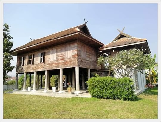WoodenHouse 197sqwHouse Maehia ChiangmaiCIty,Thailand