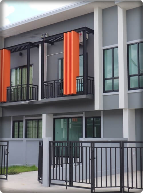 sale townhouse2bedrooms hangdong,chiangmai