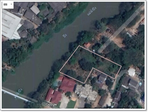 ping riverside, land for sale, Chiangmai